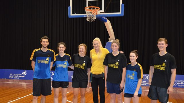 2013 Australian Youth Olympic Festival launch