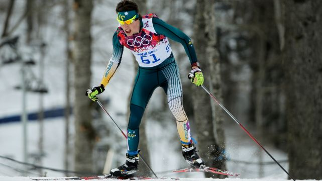 Debut Olympian Callum Watson in Cross-Country Skiing