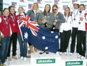Aussie Trio Claim First World Cup Win