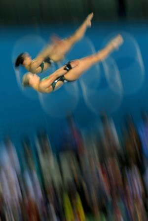 Olympics Day 4 - Diving blur shot