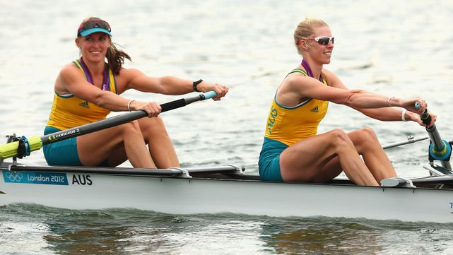 Sensational silver for rowers