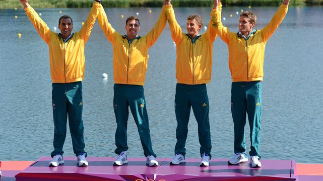 Kayakers Storm to Gold