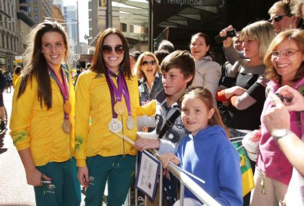 Sydney welcomes swimmers