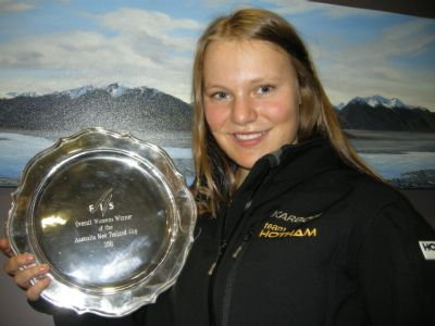 Greta Small sweeps the ANC Cup