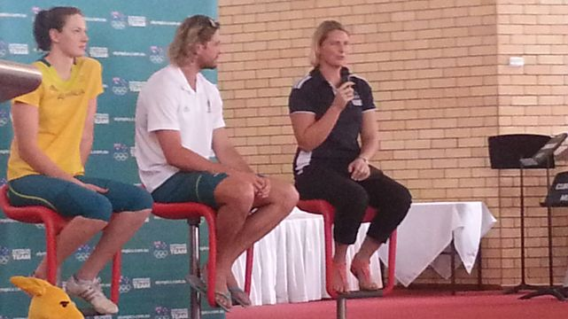 London 2012 Olympians visit St Peter's Lutheran College