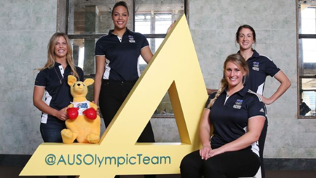 Aussies celebrate 2 Years to Rio