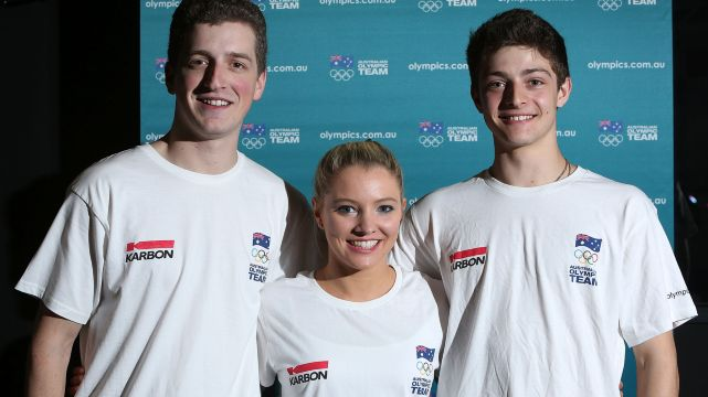 Figure skaters selected