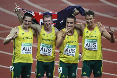 Men's 4x100m Relay - Athletics