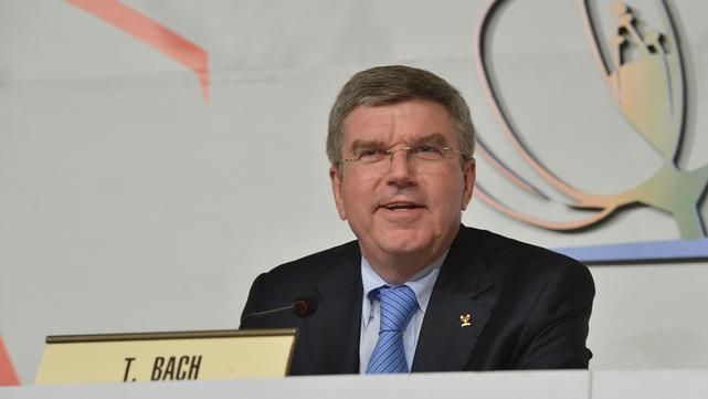 New IOC President Thomas Bach on the Aussies