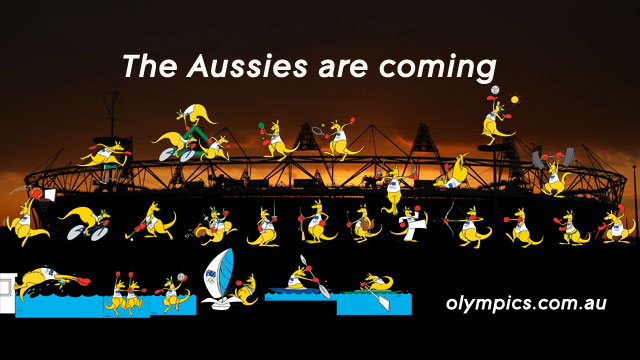 Happy 100 Days to Go from the Australian Olympic Team