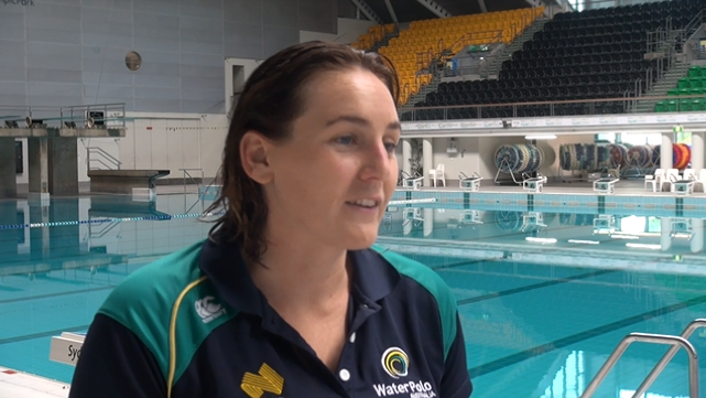 Women's water polo stars kick-start Rio campaign