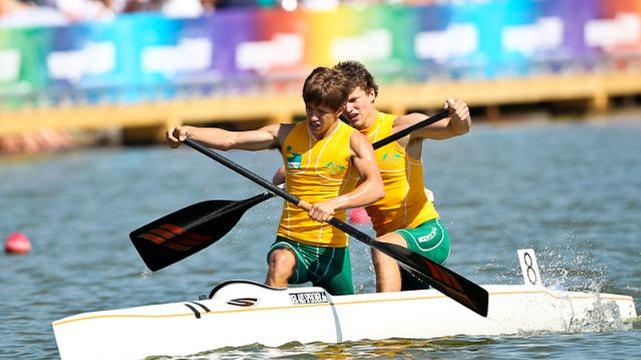 Canoe young guns off to London