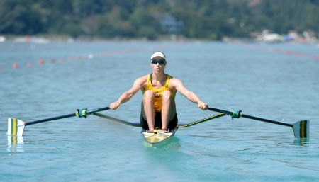 Kim Crow - 2015 Rowing World Championships
