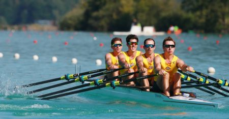 Men's quad - 2015 Rowing World Championships