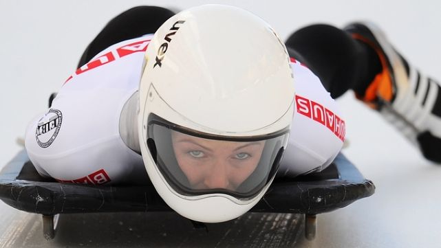 Steele's hopes for Skeleton in Sochi