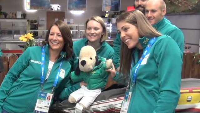Ski Cross Team Arrives in Sochi