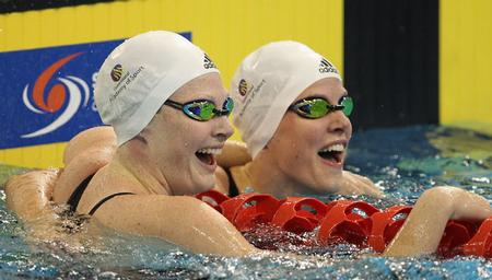 Cate and Bronte Campbell - 50m Freestyle