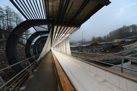 Sliding Centre takes shape