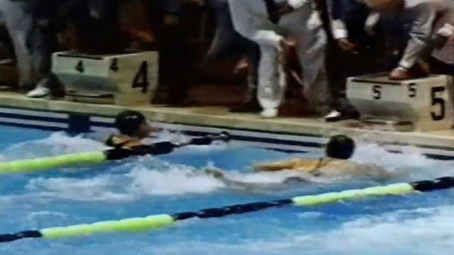 Swimming: Women's Medley Relay Rome 1960