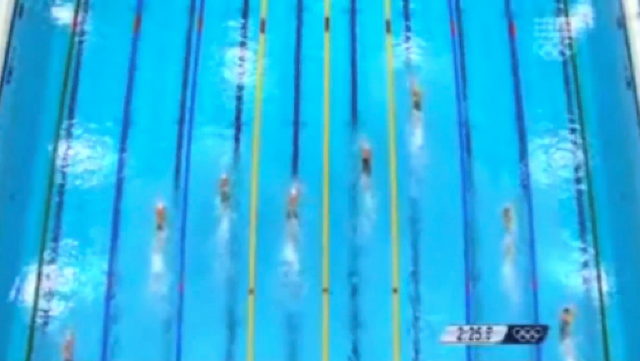 Women's 100m Freestyle Relay Team - Heat 2 London 2012