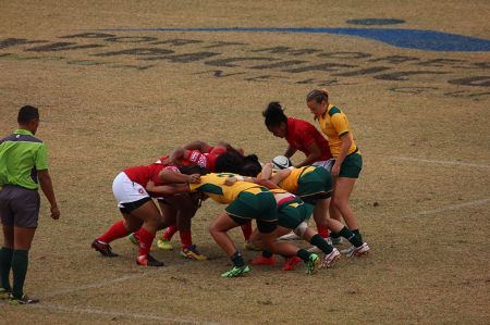 Aussie rugby sevens face Tonga
