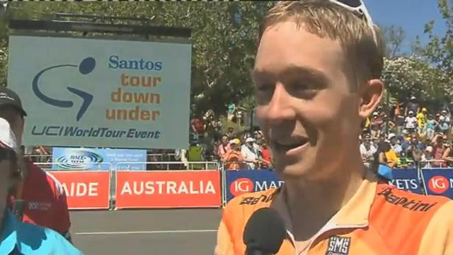 Meyer wins Tour Down Under