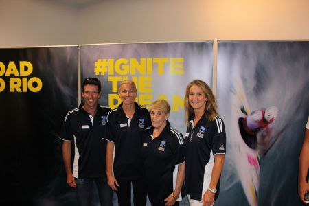 Olympian Panel at IGNITE round 1