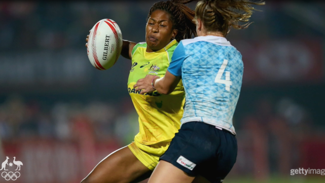 Who's the funniest player in the women's rugby sevens team?