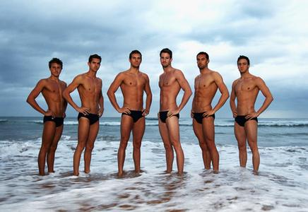 Aussie Boys Ready To Make A Splash