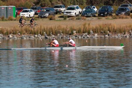 Women's Pair Claim a Convincing Win