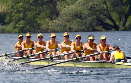 Women's Eight Secure Olympic Birth