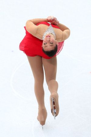 Brooklee Han competes in the Long Program