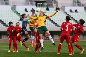 Australia v Vietnam - AFC Women's Olympic Final Qualification Round