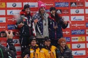Steele on podium in Konigssee