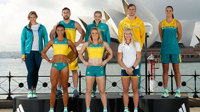 Australian Olympic Team adidas Competition and Village Wear Unveiled