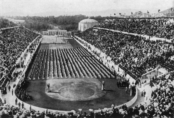 Averof's Creation Athens 1896: The Olympic stadium in Athens built by ...: media.olympics.com.au/games/1896-athens