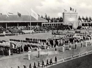 Antwerp's Olympic Ceremony