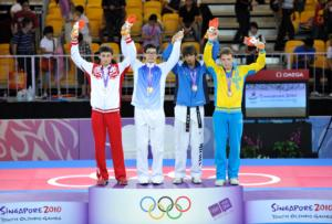 Men's -73kg Podium