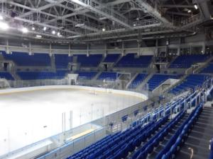 Shayba Arena hosts the Ice Hockey