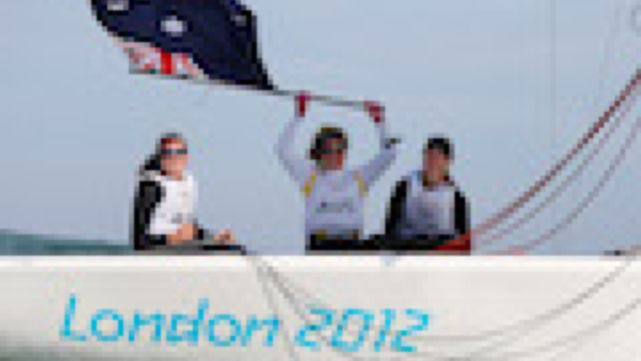 SIlver for Australian women sailors