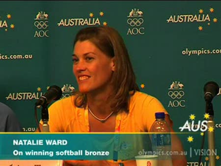 Australia wins bronze in softball