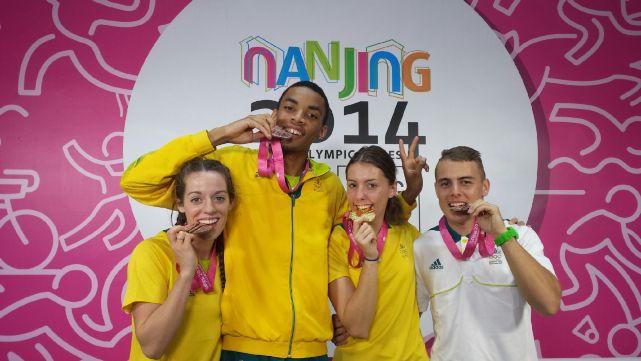 Geddes 100m Bronze