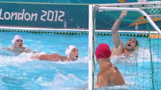 Australia vs Italy - Men's Water Polo - Day 2 London 2012