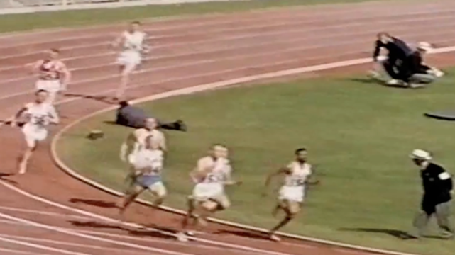 Athletics: Men's 800m Melbourne 1956