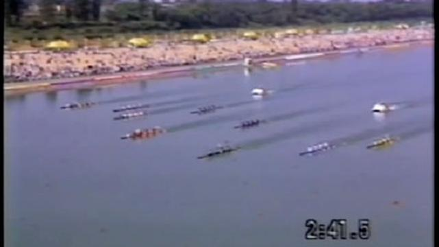 Aussies compete in canoeing Seoul 1988