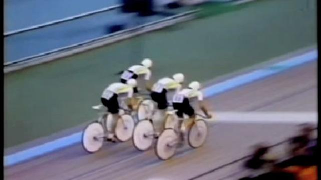 Aussies Team in 4000m Team Sprint