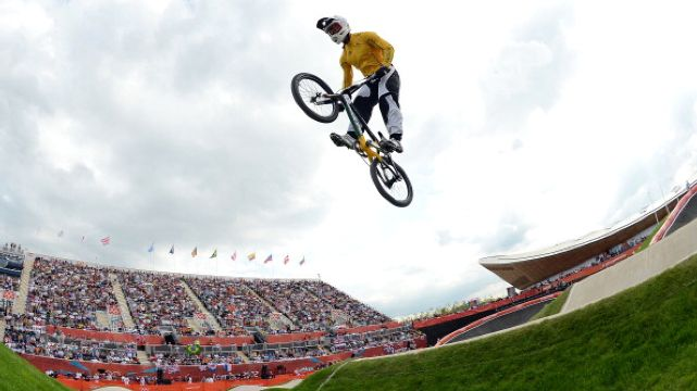 Sam Willoughby takes silver in the BMX final