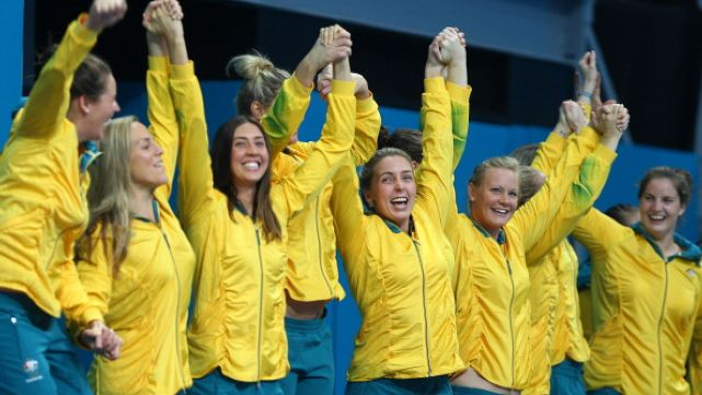 Bronze for Australian women's water polo
