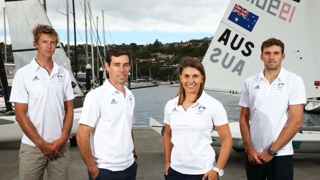 Six sailors selected for Rio 2016