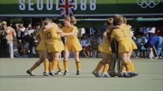 Womens Hockey Final Seoul 1988